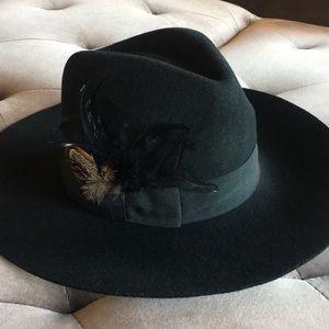 Urban Outfitters wide brim felt hat